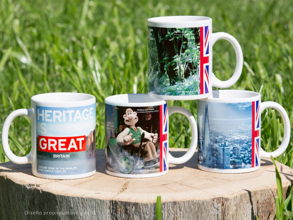 Sublimation mugs with quality imprint