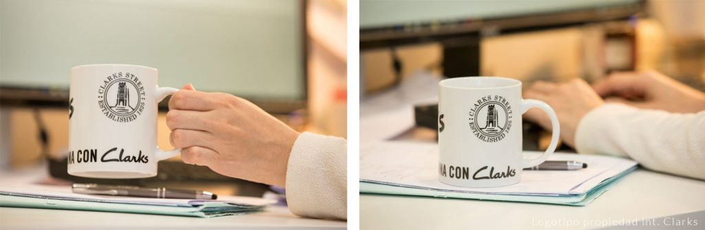 Porcelain printed mugs for the office