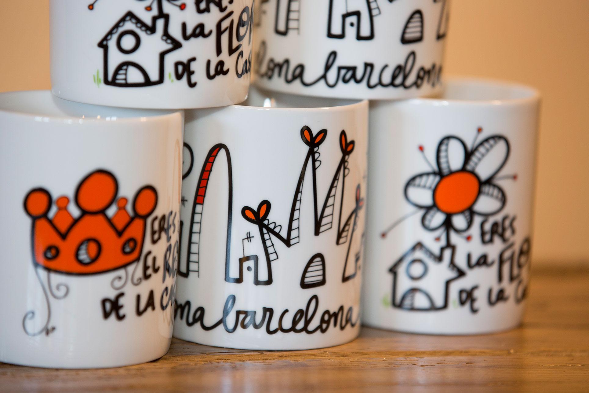 Mugs en porcelaine personnalisés