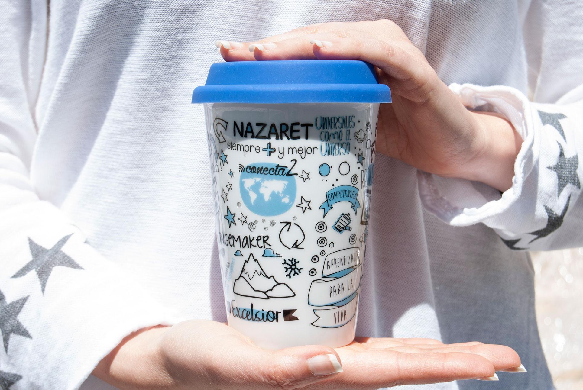 Mugs to go avec logo