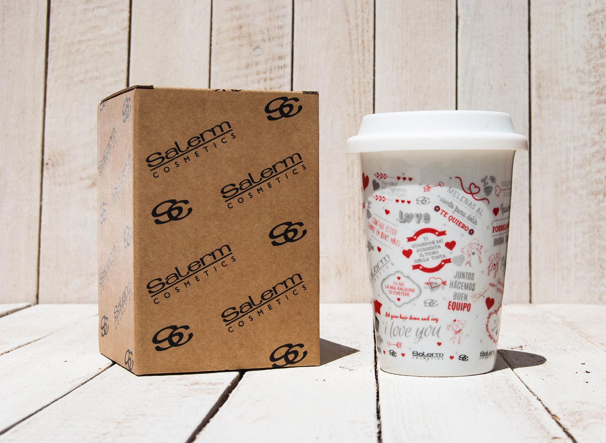 Porcelain Mugs To Avec Silicone Decotazas Go Couvercle I2DEH9W