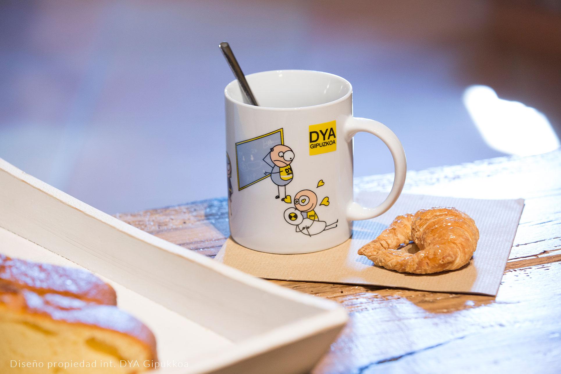 Tasses mug avec logo decoration décalcomanie vitrifiable