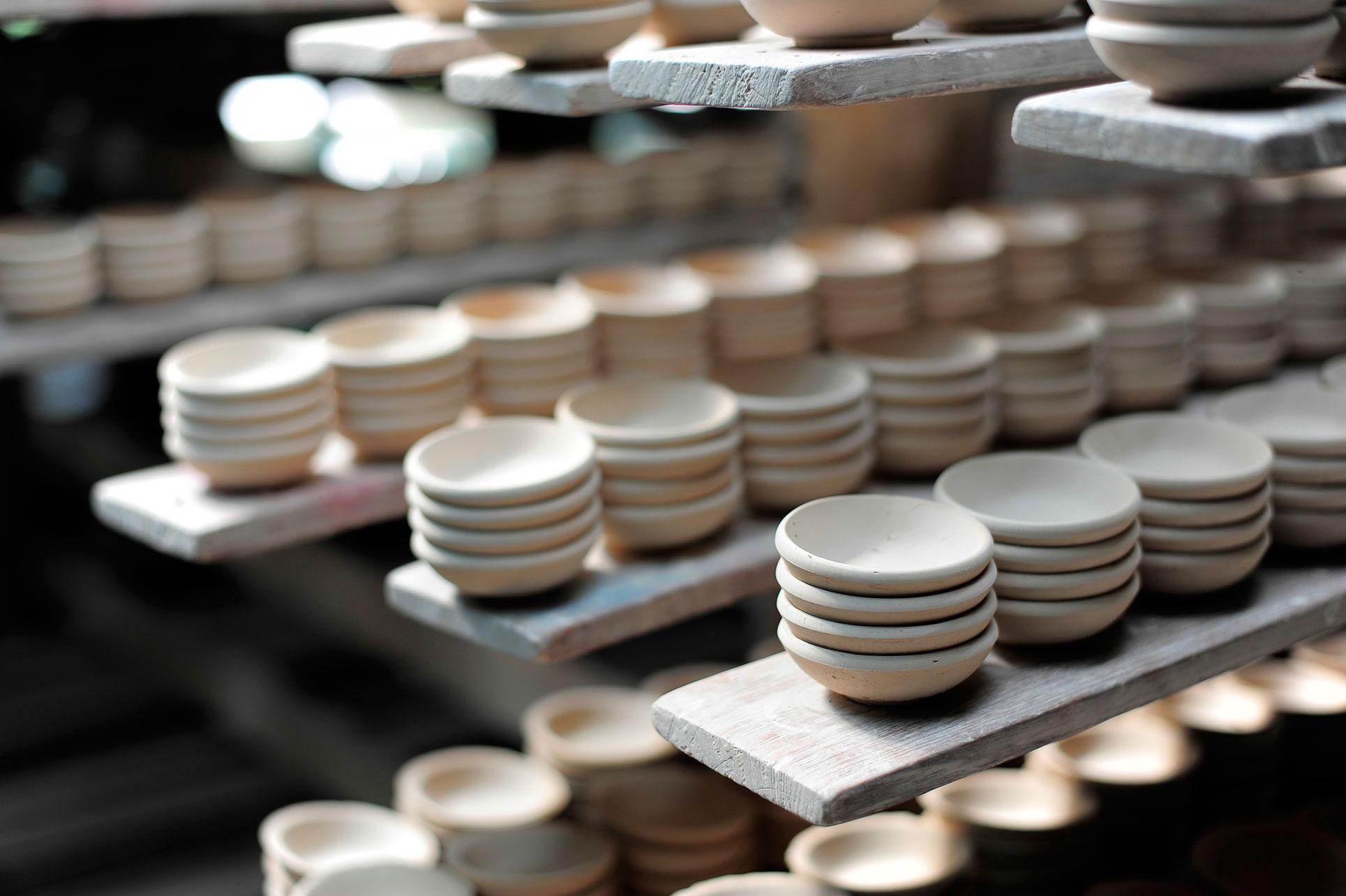 Fabrication de pièces en ceramique personnalisées
